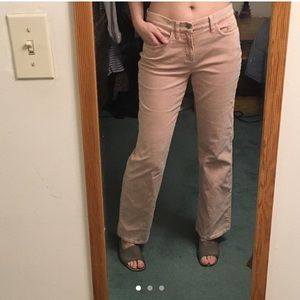 Light Pink corduroy cotton Bell bottoms/flares.